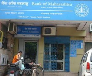 Bank of maharashtra in Delhi