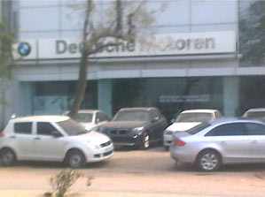 BMW Showroom in West Delhi