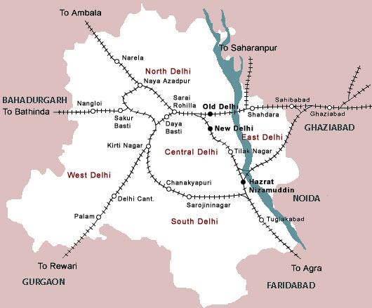Delhi Railway Map - Rail Map of Delhi - New Delhi Railway ... on gurgaon new delhi, dwarka new delhi, jama masjid new delhi, alaknanda new delhi, india gate new delhi, the ashok new delhi, chattarpur new delhi, ashoka hotel in new delhi, shahdara new delhi, shastri park new delhi, mayur vihar new delhi, vikaspuri new delhi, sarojini nagar new delhi,