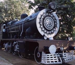 National Rail Museum in Chanakyapuri