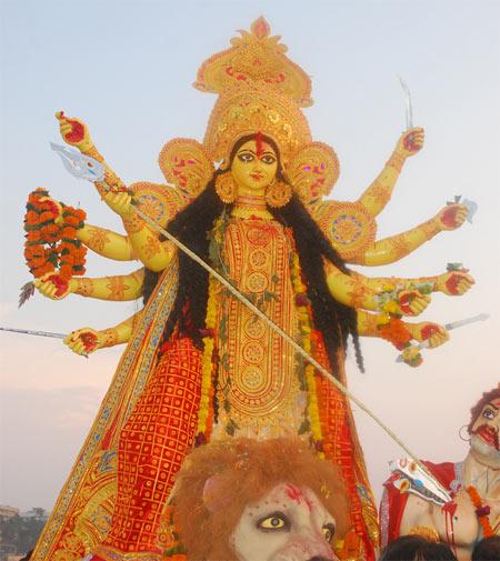 Durga Visarjan 2019 - Durga Puja Visarjan Date and Time