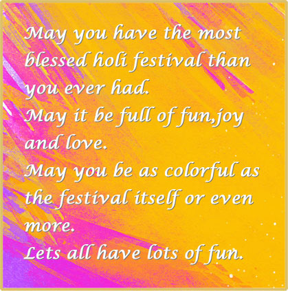 Happy Holi Messages In English-Download Most Beautiful Messages Ever