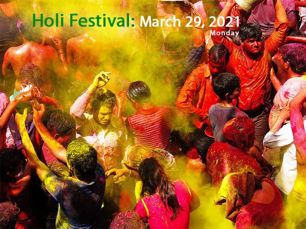 When is Holi 2017