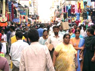 Current Population of Chennai