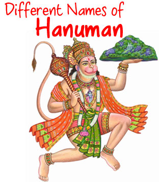 Different Names of Hanuman