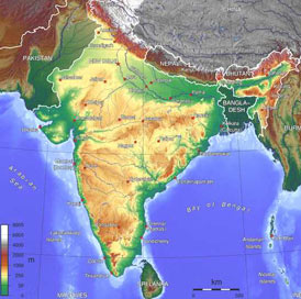 Geography of India - Indian Geography - Geographical Location of ...