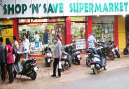 Shopping in Super Market, South Goa