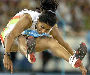 athletics of india