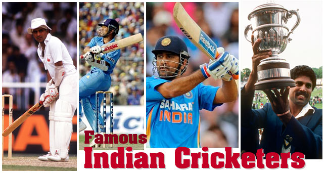 Famous Indian Cricketers Indian Cricket Players Best